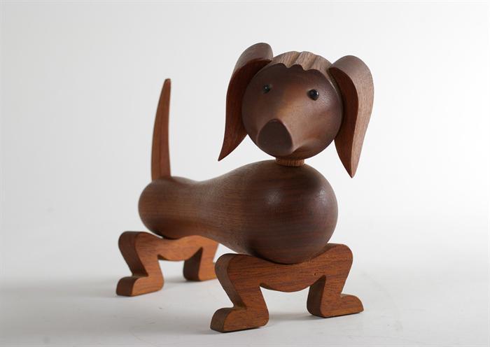 Topp Kay Bojesen. Top Kay Bojesen Wooden Rocking Horse By Rosendahl IX-68