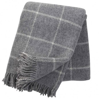 Klippan - Vinga Plaid Light Grey