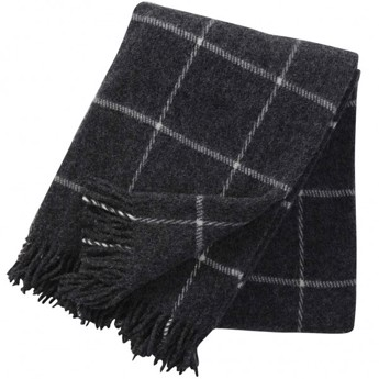 Klippan - Vinga Plaid Dark Grey