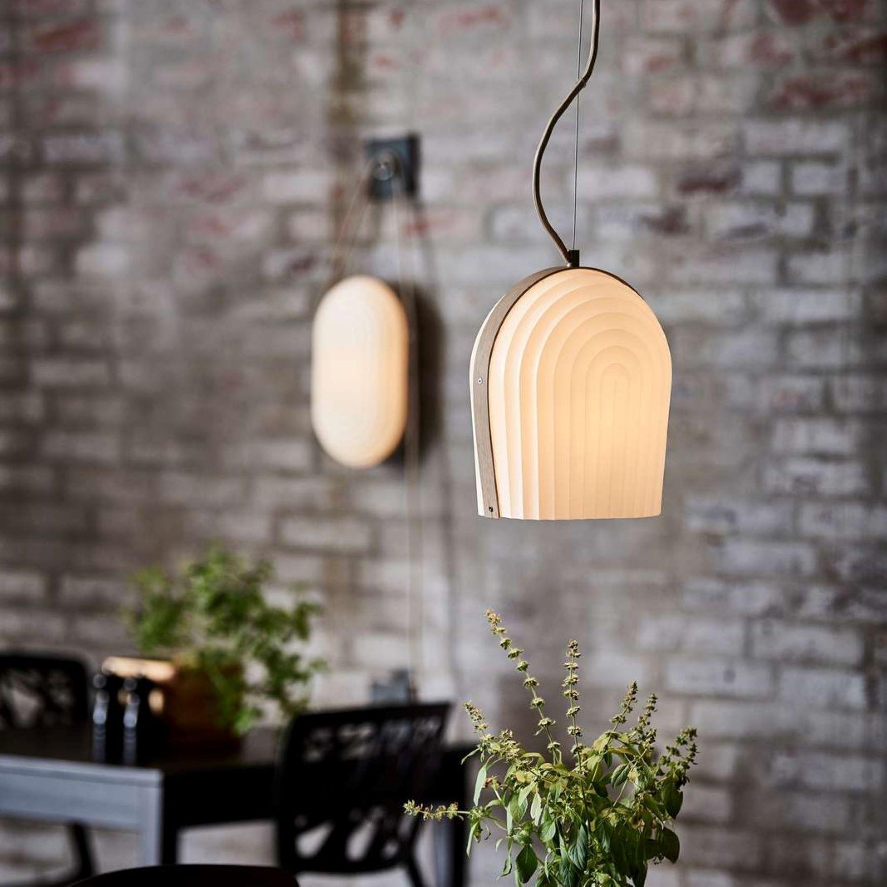 Le Klint Lamella Loft Væglampe 50cm Golden E mærket