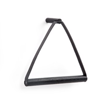By Wirth Towel Hanger Black