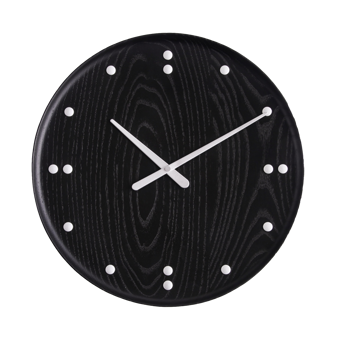 Finn Juhl Clock Black Big