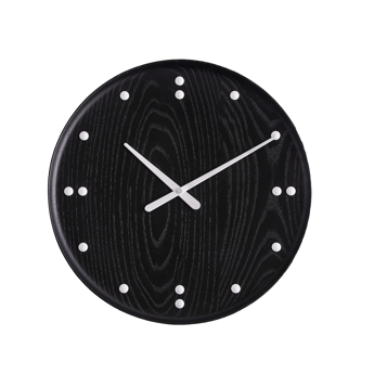 Finn Juhl Clock Black Small