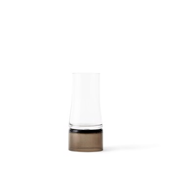 Joe Colombo vase 2-in-1 Clear/brown smoke