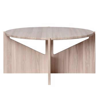 Kristina Dam XL Table | Stort Sofabord | Eg