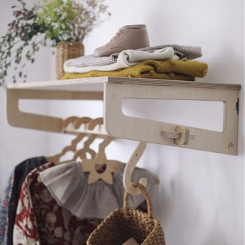Loullou Clothes Shelf