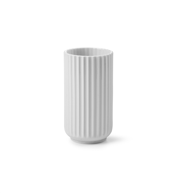 Rask Lyngby Vase 15 cm hvid | Varianter i Blank & Mat | Lyngby Porcelæn ⇒ FT-91
