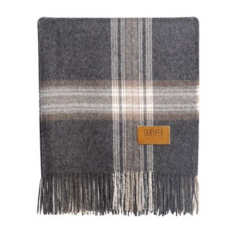 Skriver Collektion Baby Alpace Plaid Brown/Grey