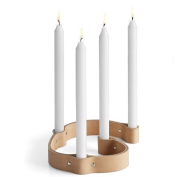 Belt 4 Candle Natur