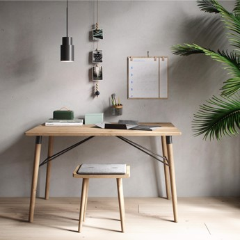 By Wirth Scala Folding Table i massiv eg