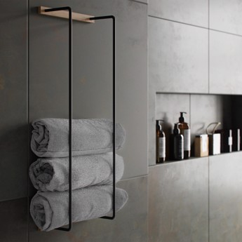 By Wirth Towel Rack - Nature Oak
