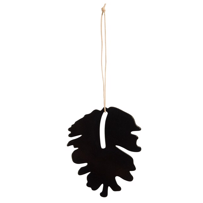 By Wirth Chrismas Hang On - Pine Cone i Metal Black