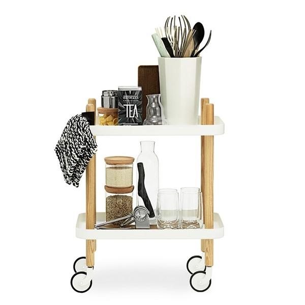 normann block table hvid. Black Bedroom Furniture Sets. Home Design Ideas