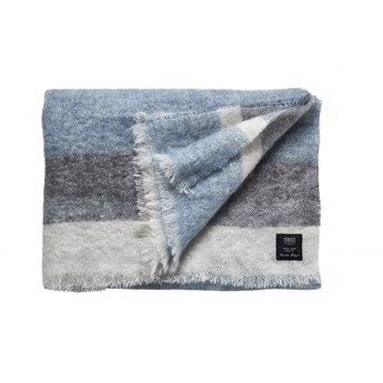 Nanna Ditzel Mohair Plaid Blue/Grey
