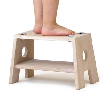 Collect Furniture - STOOL hvidolieret